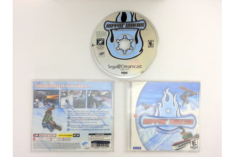Rippin' Riders Snowboarding game for Sega Dreamcast ...