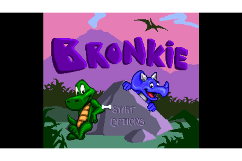 Bronkie the Bronchiasaurus ... (SNES) 60fps - YouTube