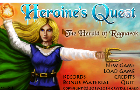 Video Game Overanalysis: Heroine's Quest and the Swan Maiden