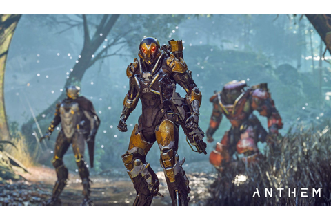 ANTHEM Will Be 'Distinctly BioWare', But 'Unlike Anything ...