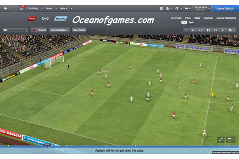Football Manager 2012 Free Download - Ocean Of Games
