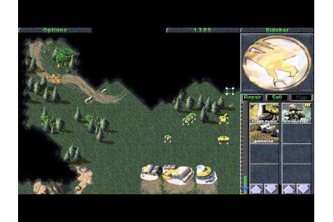 Command and Conquer 1 Gameplay First Mission GDI - YouTube