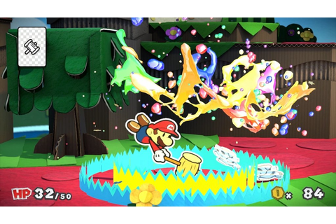 Paper Mario: Color Splash hits Wii U this year - VG247