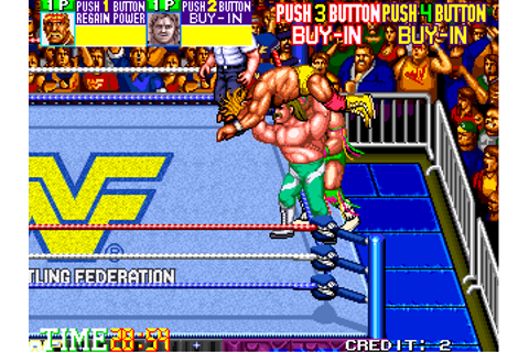 Play WWF WrestleFest Coin Op Arcade online | Play retro ...