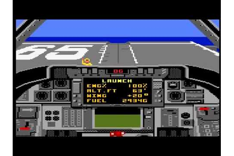 Tomcat : The F-14 Fighter Simulator sur Atari 7800 - YouTube