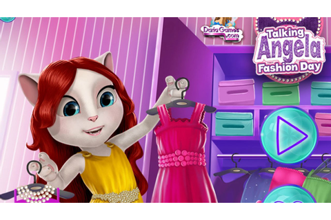 My Talking Angela Game - Talking Angela Game Fashion Day ...