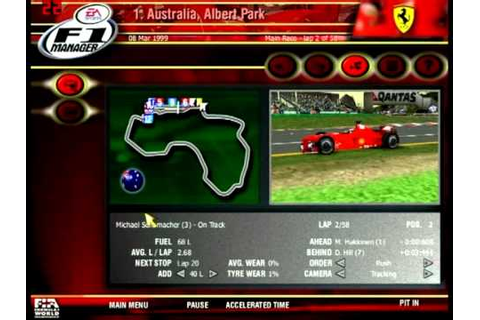 EA SPORTS - F1 Manager 2000 - YouTube