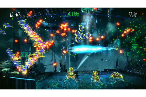 RESOGUN by Housemarque - Resogun Heroes DLC & Free Patch ...