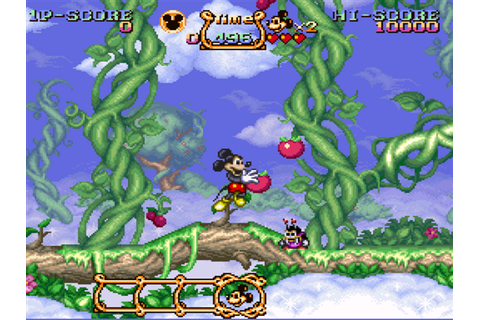 The Magical Quest: Starring Mickey Mouse Download Game ...