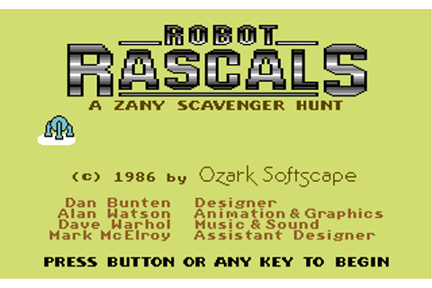 Download Robot Rascals - My Abandonware