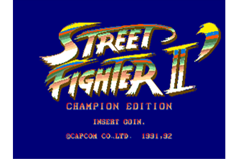Street Fighter II: Rainbow Edition | BootlegGames Wiki ...