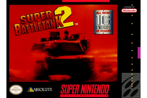 Super Battletank 2 SNES Super Nintendo