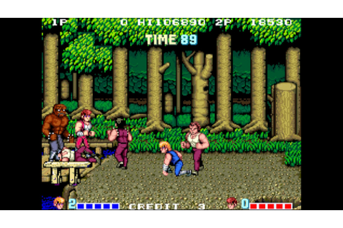 Arcade Archives Double Dragon Review (Switch eShop ...