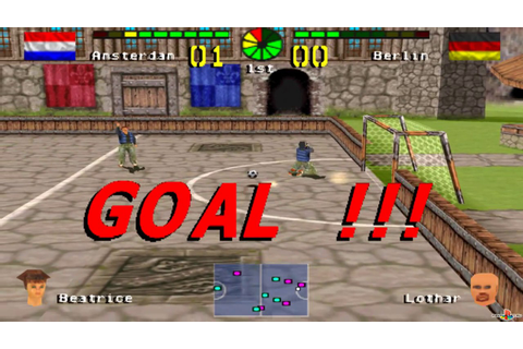 (PSX) Chris Kamara's Street Soccer (SLES-02948) GamePlay ...