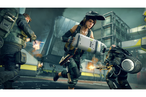 Dirty Bomb is a tense team-based shooter set in a boring ...