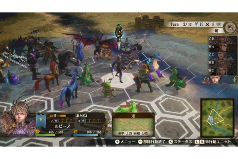 Brigandine: The Legend of Runersia announced for Switch ...