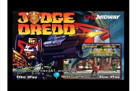 Judge Dredd Arcade Beat 'Em Up! MAME SuperCharged! Full ...