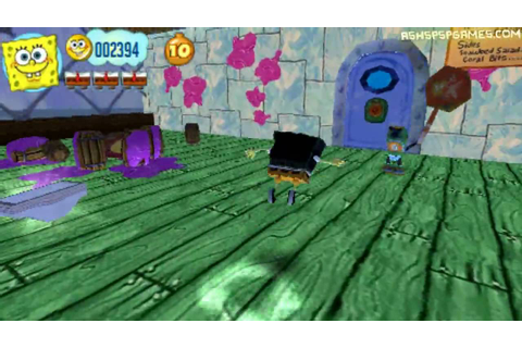 Spongebob's: Truth Or Square - PSP - #11. Krusty Krab ...