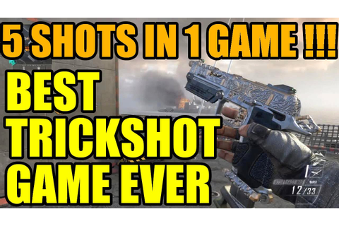 Best Trickshot game ever | 5 shots in 1 game !!! - YouTube