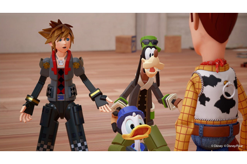 Kingdom Hearts 3: Toy Story Announced as New World - IGN