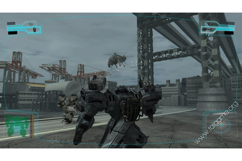 Front Mission Evolved - Download Free Full Games ...