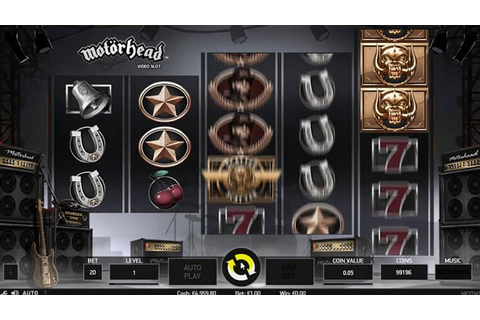 Motorhead slot from NetEnt: Review + Play for Free ...