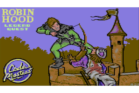 Robin Hood Legend Quest (Commodore 64/Gameplay/Full HD ...