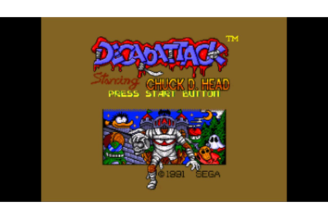 Decap Attack (Genesis/MD) Music - Life Lost/Game Over ...