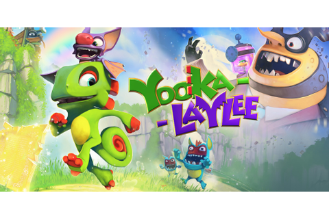 Yooka-Laylee | Nintendo Switch download software | Games ...
