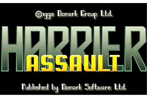 AV8B Harrier Assault Download (1992 Simulation Game)