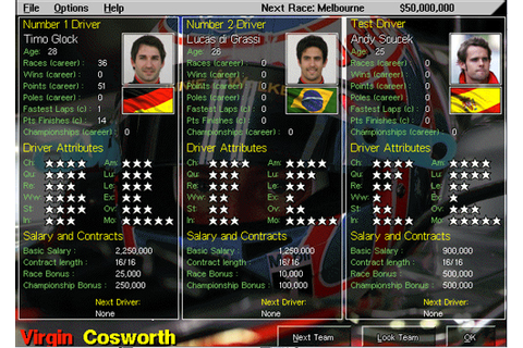 Grand Prix Manager 2 – A Retrospective | Ahw3ll's Blog