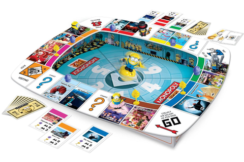Monopoly Despicable Me 2 Game - Board Games Messiah