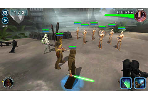 EA's Star Wars Galaxy of Heroes 'is not the mobile game ...