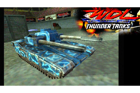 World Destruction League: Thunder Tanks ... (PS2) - YouTube