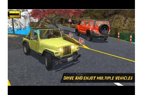 Off Road 4x4 Jeep hill Driving - Android Racing Game Video ...