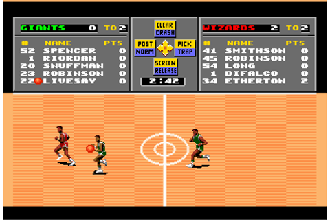 Play TV Sports Basketball NEC TurboGrafx 16 online | Play ...