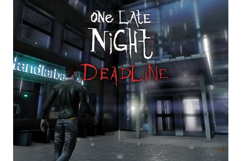 One Late Night: Deadline Free Download « IGGGAMES