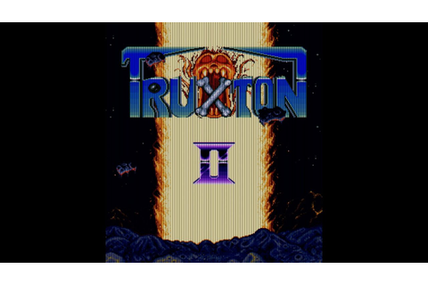 Truxton II (Arcade Game Intro) - YouTube
