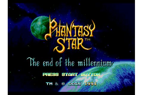 Phantasy Star 4 - The End of The Millenium Screenshots ...