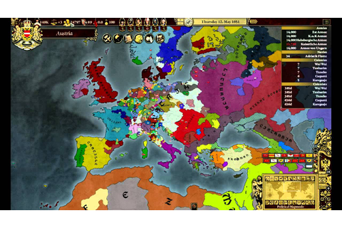 Let's Play Europa Universalis III: MEIOU (P96) - YouTube