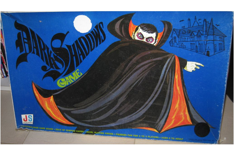 #DarkShadows; another movie tie in board game review ...