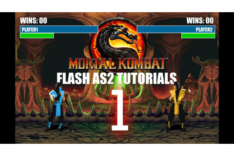 Mortal Kombat: Make the game in Flash AS2 - Tutorial 1 ...