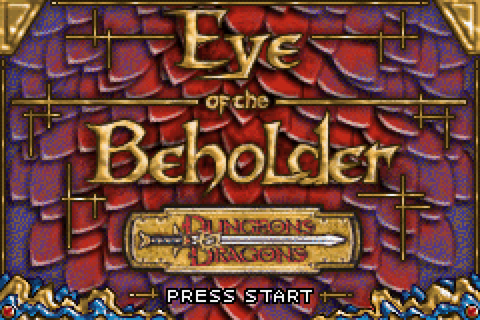Dungeons & Dragons: Eye of the Beholder Download Game ...