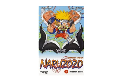 Naruzozo Tome 1 Mission Sushi - Games and toys