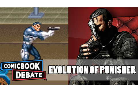 Evolution of the Punisher Games in 5 Minutes (2017) - YouTube