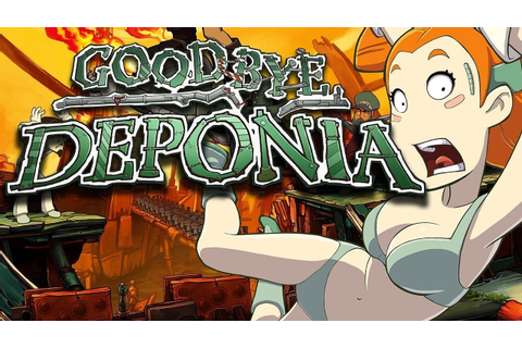 Goodbye Deponia – Game Movie (All Cutscenes / Story ...