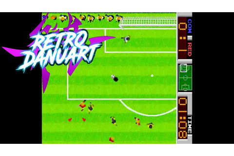 Tehkan World Cup (Arcade) [Tehkan] - YouTube