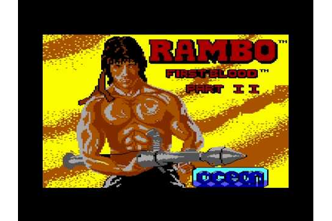 Commodore 64 Crypt - Rambo First Blood Part II - YouTube