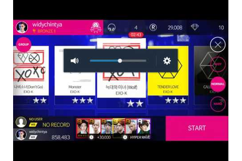 Superstar Smtown Game - Exo Monster Song (Normal) - YouTube