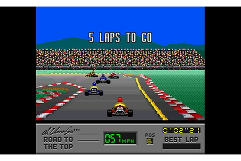 Play Al Unser Jr.'s Road to the Top (USA) • Super Nintendo ...